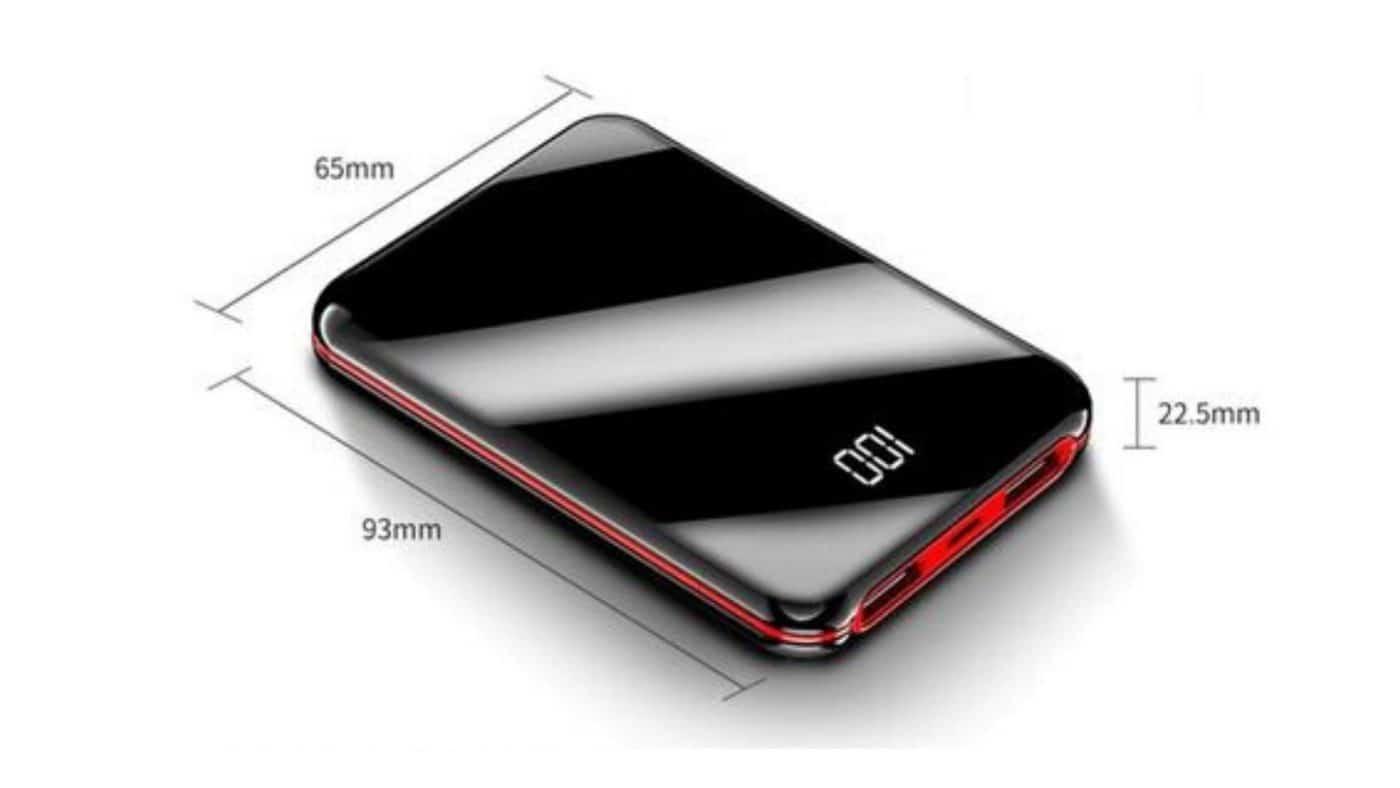 Chargeur Portable Dimensions