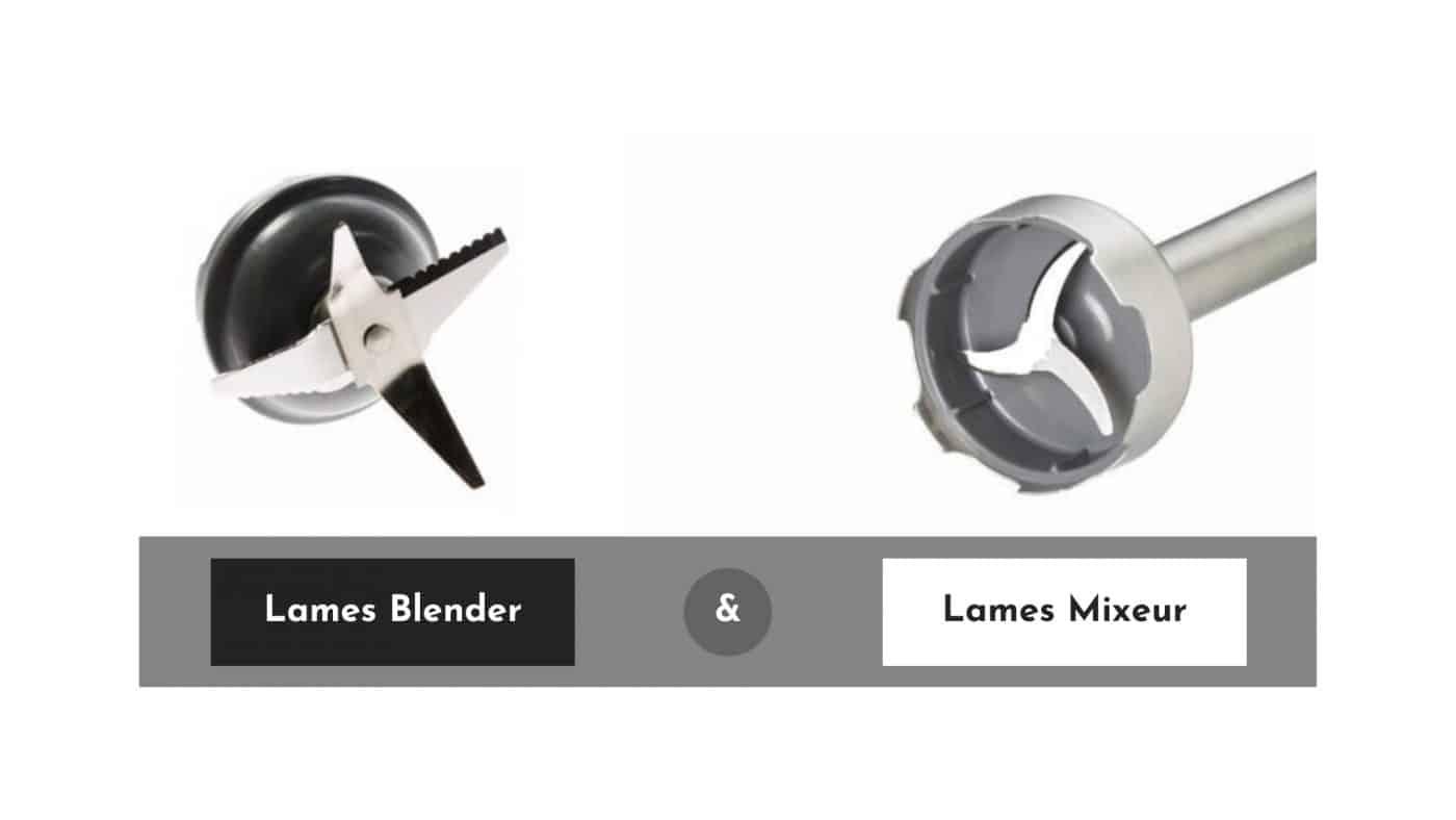 Lames Blender et Lames Mixeur