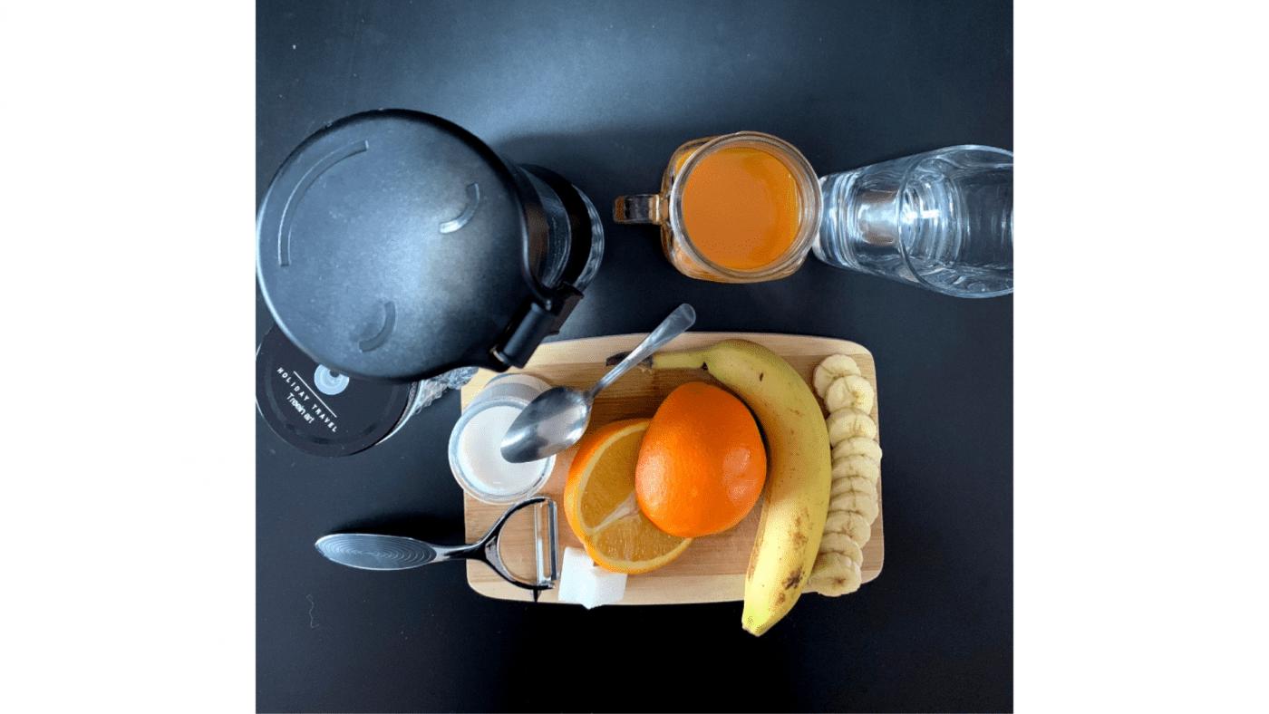 Recette Smoothie Banane Orange Vanille