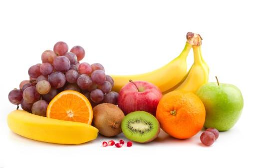 Banane entre fruits