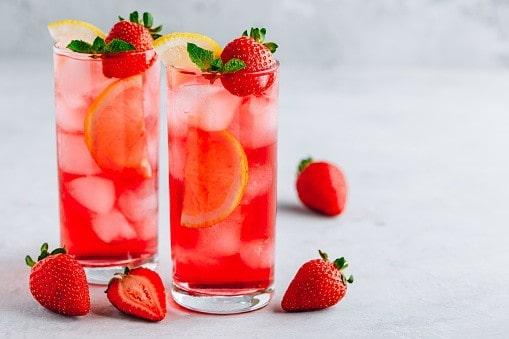 Cocktail fraise