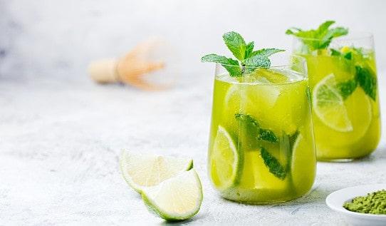 Cocktail thé vert