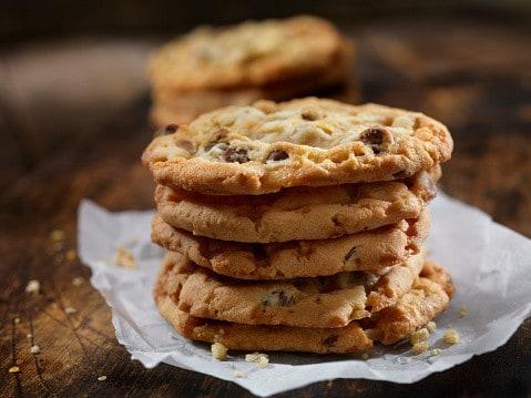 Cookie au pépite de chocolat végan