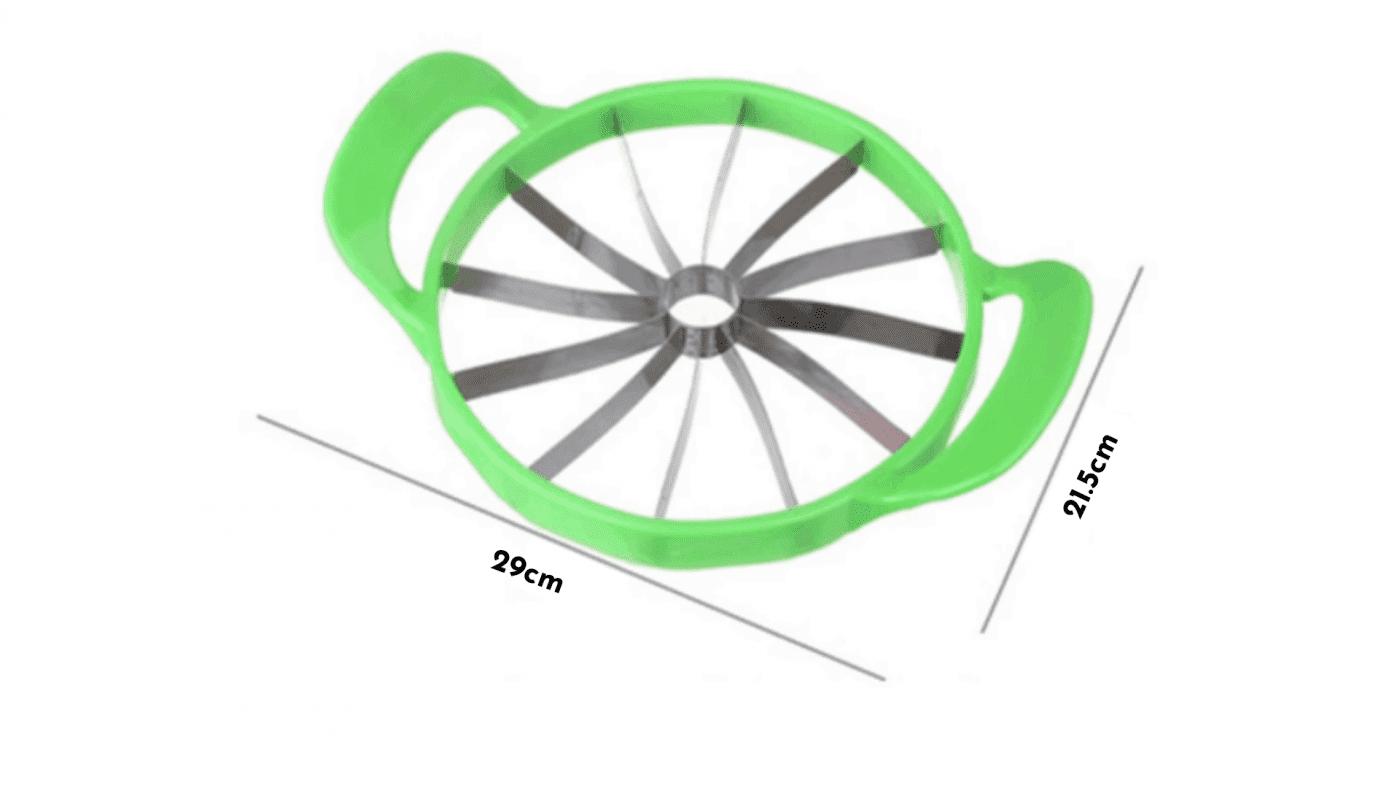 Coupe pastèque dimensions