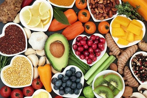 Fruits et légumes coeur