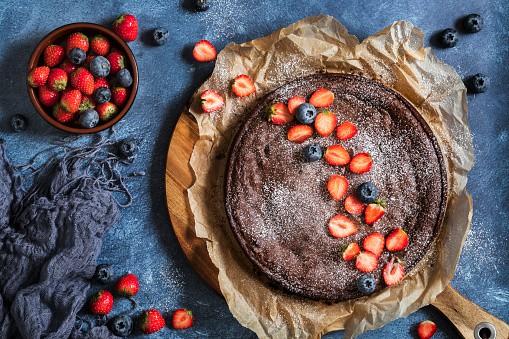 Gâteau au chocolat végan