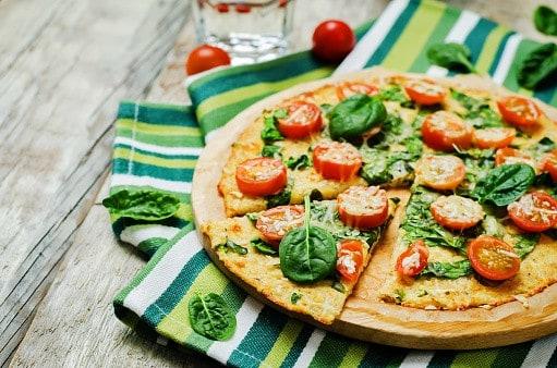 Pizza végan