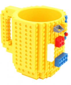 Tasse lego diy jaune