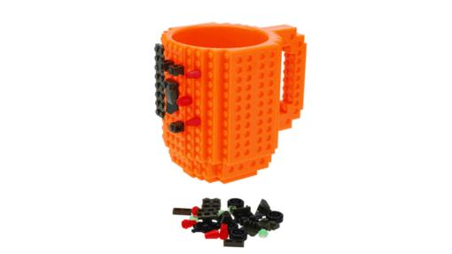 Tasse lego diy orange