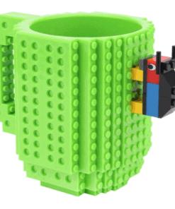 Tasse lego diy vert