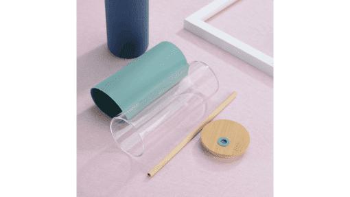 Bouteille à paille en verre pièces
