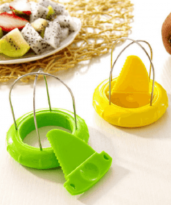 Coupe-kiwi vert et jaune