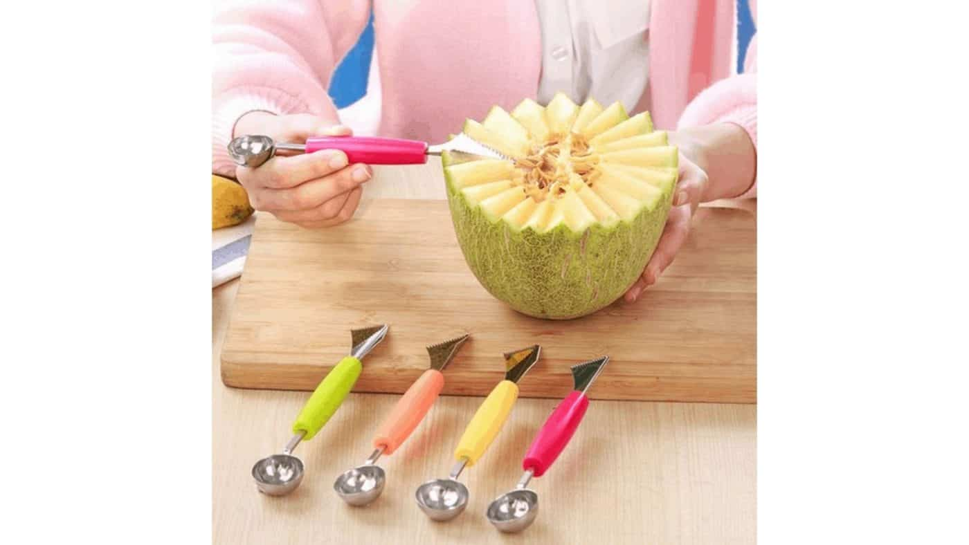 Couteau à fruit créatif melon