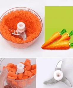 Mini hachoir manuel à carotte
