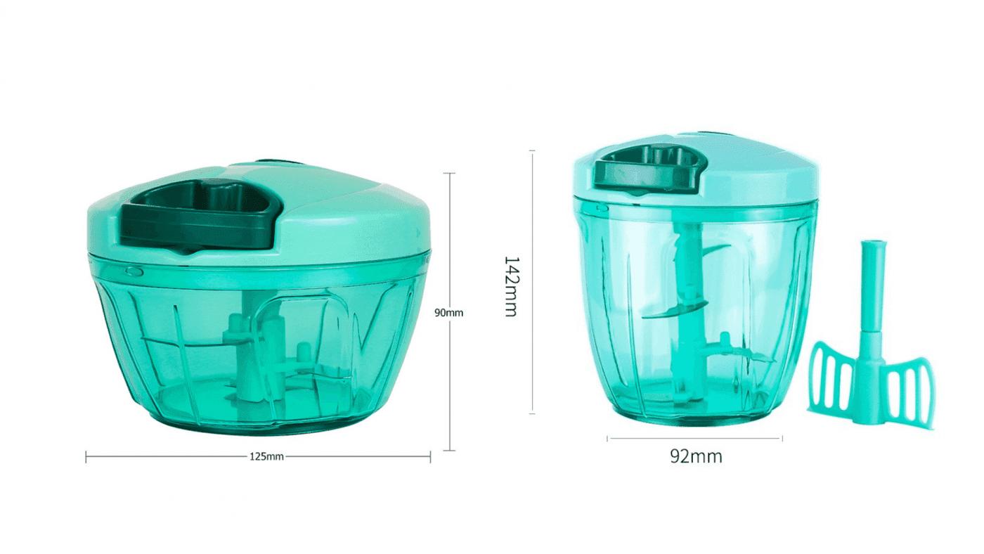 Mini hachoir manuel dimensions
