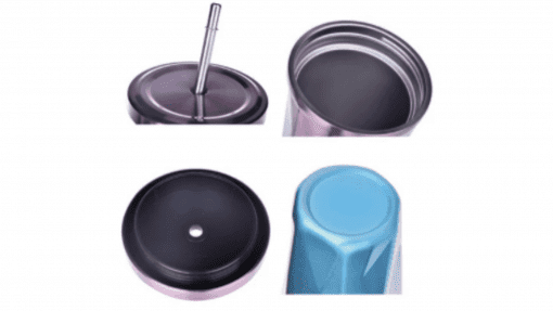 Tasse en acier inoxydable éléments
