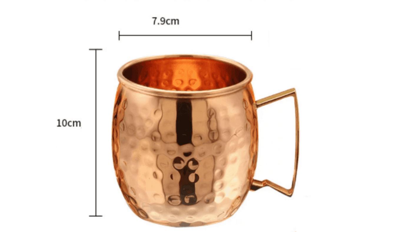 Tasse moscow mule dimensions
