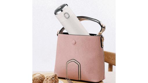 Thermos intelligent pour sac à main